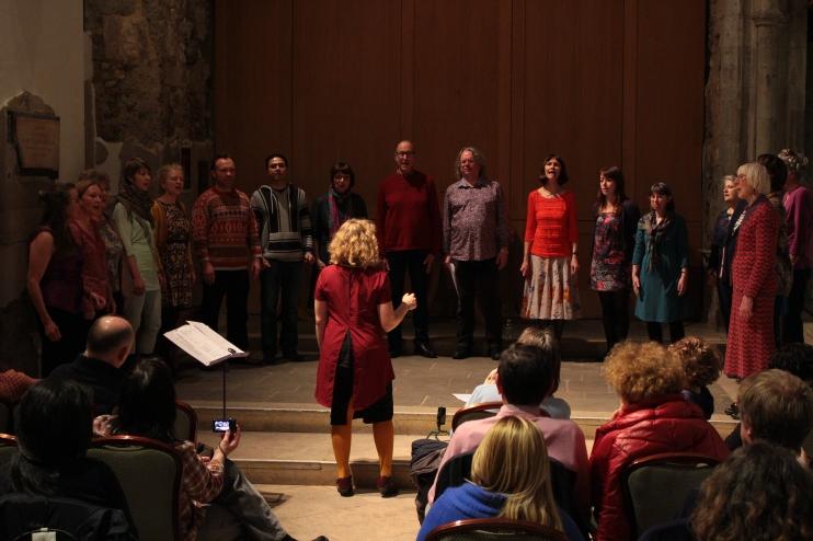 St Ethelburga's Interfaith Choir, Spring 2015